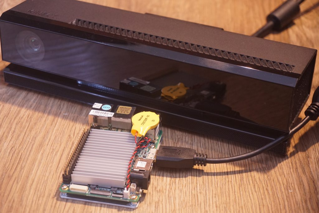 Kinect 2.0 for Windows + UP Board